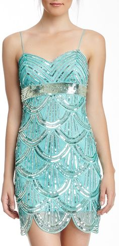 Gatsby Beaded Dress Oooh! I like this so much, but I doubt Clare would actually wear something so flashy!