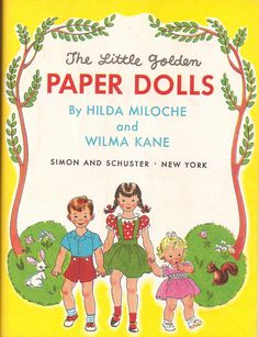 PAPER DOLLS title page | by Huge Cool
