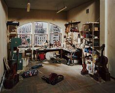 Flak Photo: Lori Nix, Violin Repair Shop
