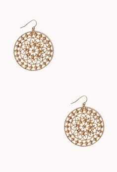 Womens chandelier earrings | shop online | Forever 21 - 1000090026 ...