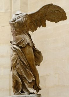 Nike of Samothrace. This is the reason why I started looking at sculptures. Just amazing