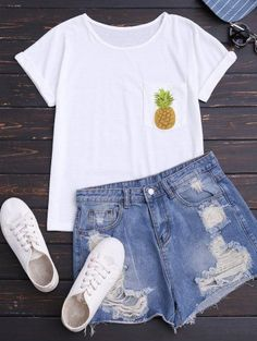 Teen Fashion - Outfits for Teens Lazy Day Outfits, Cute Summer Outfits, College Outfits, Simple Outfits, School Outfits, Outfits For Teens, Spring Outfits, Trendy Outfits, Winter Outfits