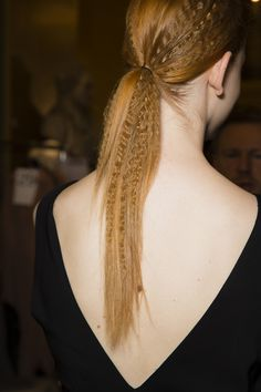 HAIR: Stella McCartney Spring 2015 #PFW