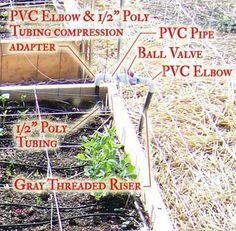 Drip Irrigation 101 - HOMEGROWN