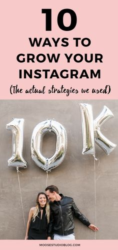 How We Reached 10k Followers On Instagram And How You Can Too. Click through to see the 10 strategies we used to grow our Instagram following.