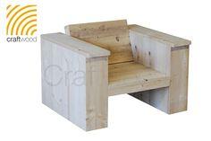 Loungestoel XL   Bouwpakketten   Craftwood