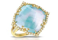 St. Tropez Turquoise Ring - Doves by Doron Paloma - MSRP: $2,430