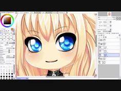 Vocaloid SeeU Chib Speedpaint