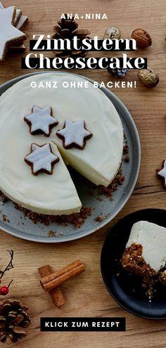Weihnachtlicher Käsekuchen - ganz ohne Backen! - ist perfekt für alle, die auf die schnelle etwas Grossartiges für's Fest zaubern wollen. Probiere dieses Cheesecake Rezept gleich aus oder pinne es für später :)