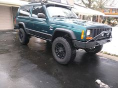 My 98 just got nates 4x4 bumper mounted up (first ever post) #jeep #jeeplife #Wrangler #jeeps #Cherokee #JeepMafia #offroad #4x4