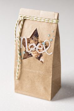 Cafe Bags are a fun, and easy way to wrap up a treat for a quick neighbor gift!