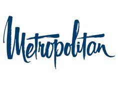 Metropolitan brush script by Dan Cotton