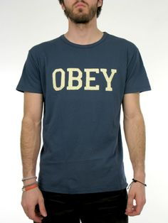 Obey mens t shirt