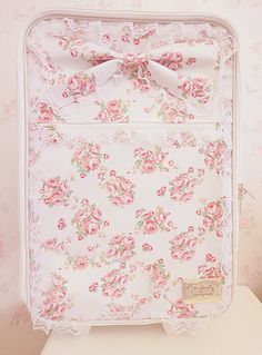 Pink floral suitcase from liz lisa