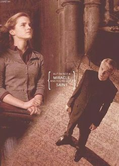 Draco and Hermione. Dramione.