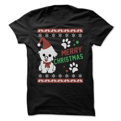MERRY CHRISTMAS IS BETTER WITH SHIH TZU T-Shirts, Hoodies. VIEW DETAIL ==► Funny Tee Shirts