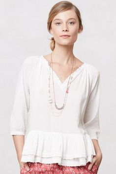 Tiered Peasant Top