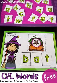 Kindergarten Activities for Halloween