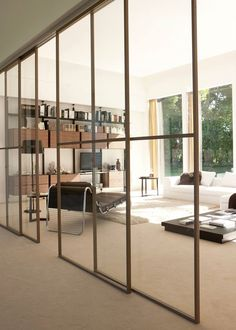 casafacile - dividere soggiorno e cucina con una vetrata | casa ... - Dividere Cucina Dal Soggiorno Con Vetro 2