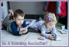How I turned my kids into reading rockstars, including how my 3-year-old learned to read!!
