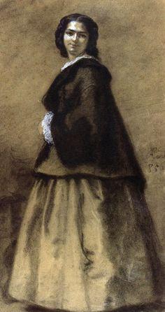 Portret Zofii z Gałczyńskich Kossakowej 1856