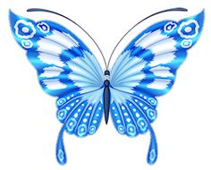 Blue bird tattoo beautiful butterflies New ideas Butterfly Images, Butterfly Drawing, Butterfly Painting, Butterfly Crafts, Butterfly Kisses, Butterfly Wallpaper, Butterfly Flowers, Butterfly Design, Blue Butterfly