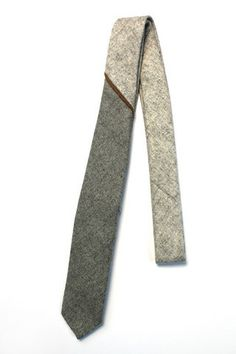 Angle Wool Neck Tie   Skinny Vinny