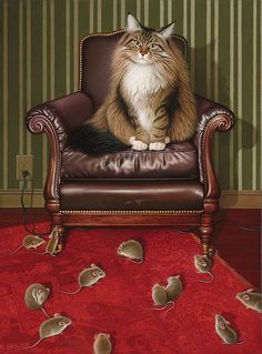 12 best cat art prints canvases images cat illustrations dog rh pinterest com