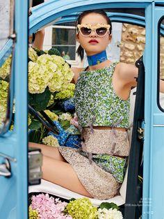 "Duchess Dior: ""Hi Paris"" Xin Xie for Self Magazine China May 2016"