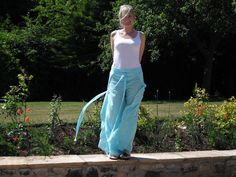 Sarong Trousers...a tutorial