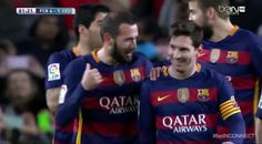 Leo Messi with a brilliant penalty during Barca vs Celta Vigo http://ift.tt/2440uGc Love #sport follow #sports on @cutephonecases