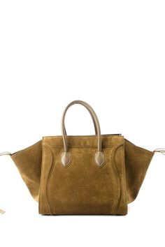 Vintage Celine Suede Luggage Tote by Non Specific on @HauteLook