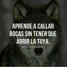 Motivational Phrases, Inspirational Quotes, Cute Senior Pictures, Wolf Quotes, Boxing Quotes, Spiritual Messages, Empowerment Quotes, Strong Quotes, Spanish Quotes
