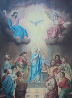 R. When the day of Pentecost was fully come, they were all with one accord in one place Alleluia and suddenly there came a sound from heaven, alleluia. * as of a mighty rushing wind, and it filled all the house, alleluia, alleluia. V. Where the disciples were assembled for fear of the Jews, there suddenly came upon them a sound from heaven. R. As of a rushing mighty wind, and it filled all the house, alleluia, alleluia.