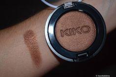 n°132 Pearly bronze Kiko Milano, Swatch, Blush, Eyeshadow, Bronze, Beauty, Eye Shadow, Rouge, Eye Shadows