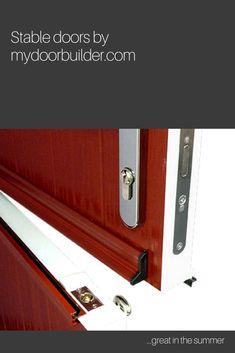 Stable composite doors by mydoorbuilder.com