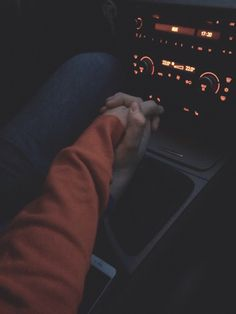 Image result for people holding hands in car tumblr