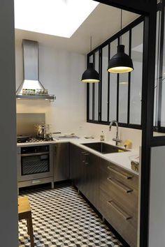 Modern Home Decor Kitchen Design Room, Home Design, Home Decor Kitchen, Interior Design Kitchen, Kitchen Dining, Estilo Interior, Interior Styling, Room Deviders, Cuisines Design