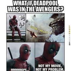 Deadpool as an Avenger