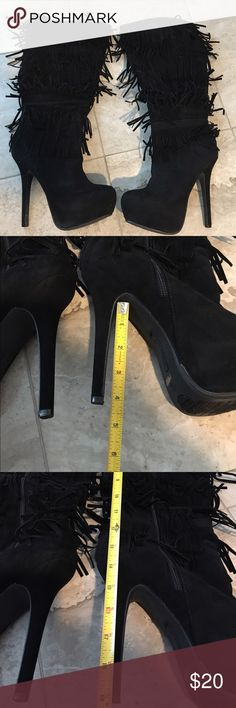 Anne Michelle boots Brand new oscar-16 blinks hi- heel boots anne Michelle Shoes Heeled Boots