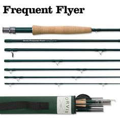 Orvis Frequent Flyer Tip Flex The travel-ready fly rod for all your freshwater fishing adventures.