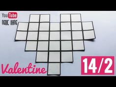 DIY ♡ QUÀ VALENTINE 14/2 (dán ảnh cỡ 4x4 cm) - NGOC VANG - YouTube