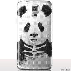 Housse / Coque Panda pour S5 Samsung - Coque de telephone portable rigide / Fine et légère