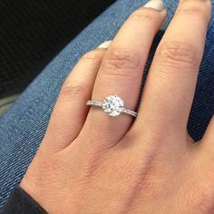 1.23 ct solitaire engagement ring #engagementring #solitaire