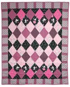 I'm making a harlequin quilt, and looking for ideas.
