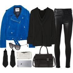 Untitled#3062 by fashionnfacts on Polyvore featuring Chloé, Acne Studios, Citizens of Humanity, Yves Saint Laurent, Kenneth Cole, MARC BY MARC JACOBS and Topshop