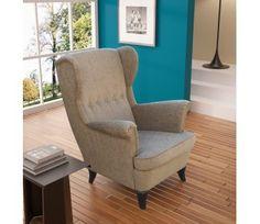 Fotel Uszak z kolekcji ArtStyl - KLAWEMEBLE - 863 PLN