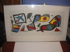 Reproduction of the original created in 1980 by Joan Miro on request of << LA CAIXA DE PENSIONS >>