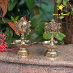 Silver Lamp, Brass Lamp, Brass Diyas, Diya Lamp, Temple Design For Home, Silver Pooja Items, Pooja Room Door Design, Traditional Lamps, Puja Room