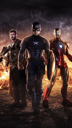 Avengers Endgame: Captain America, Thor, and Iron Man Marvel Avengers, Marvel Comics, Captain Marvel, Marvel Films, Marvel Art, Marvel Memes, Marvel Characters, Hawkeye Marvel, Avengers Memes